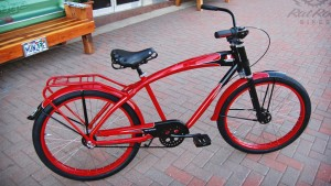 FELT RED WOLFE CRUISER