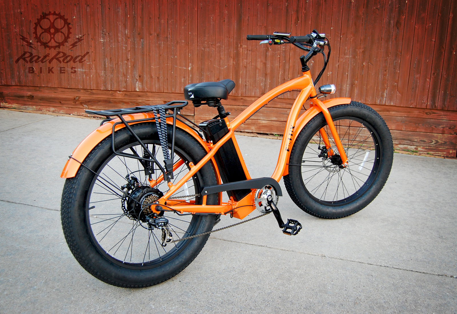 E-Lux E100 Fat Tire Electric Cruiser Bike