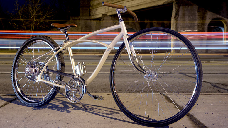 Trash To Treasure A Custom Huffy Cruiser Rat Rod Bikes