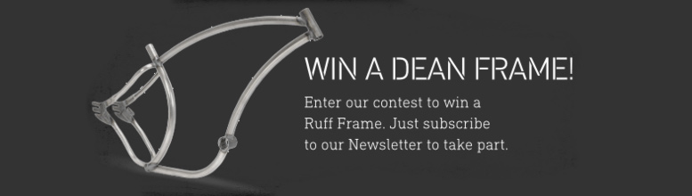 Win a Ruff Cycles Frame