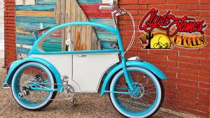 THE VW BEETLE BIKE BY CLYDE JAMES CYCLES