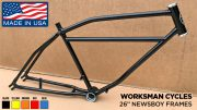 Worksman Cycles Newsboy Frames