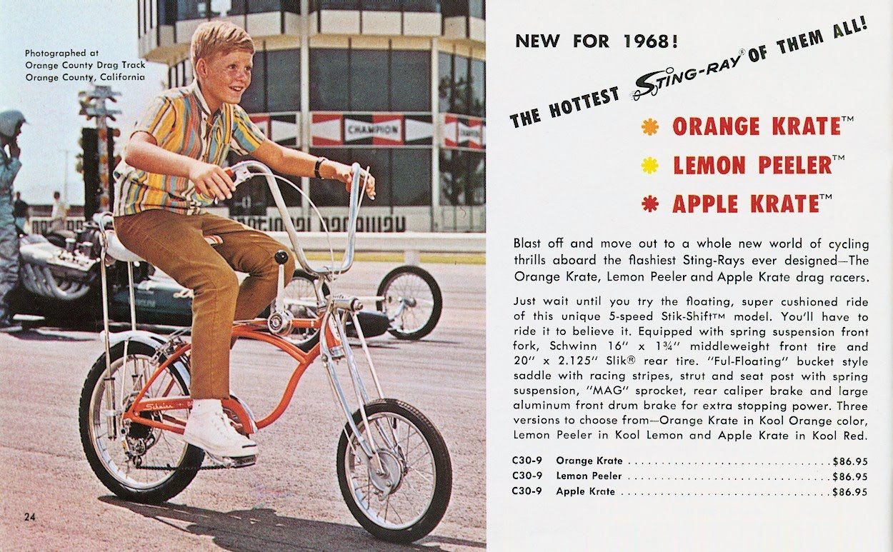 Schwinn Orange Apple Krate