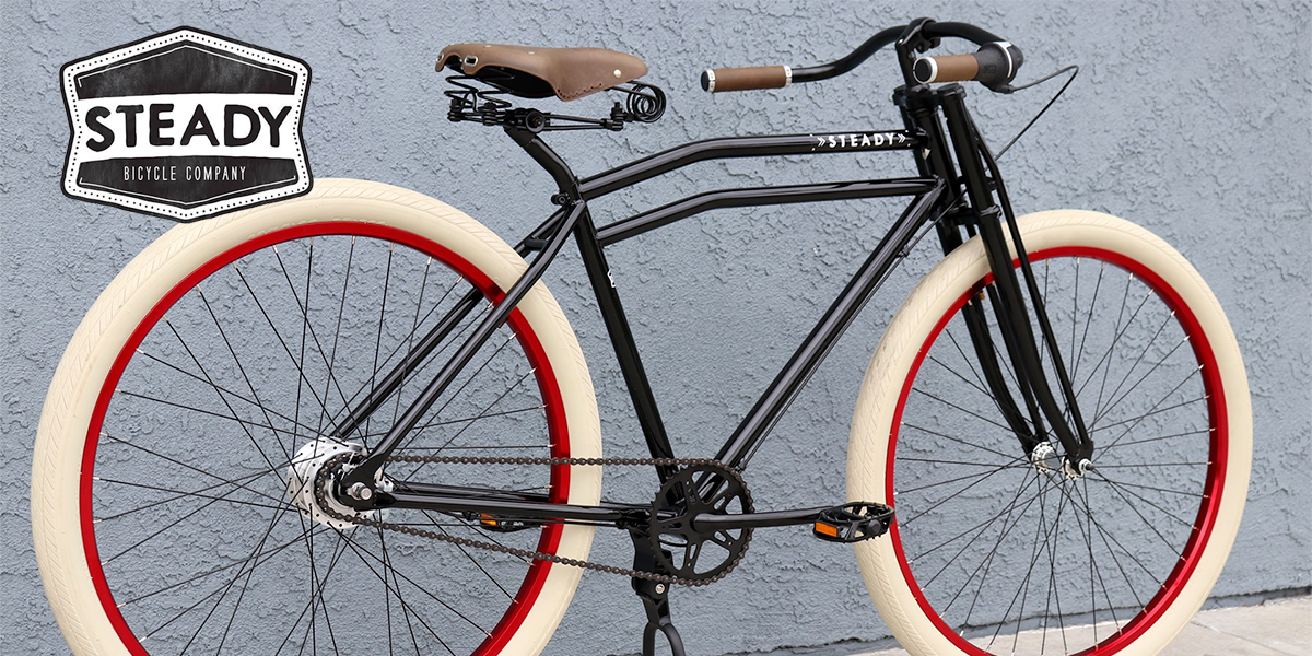 STEADY BICYCLE COMPANY COMBINES VINTAGE STYLE AND HIGH QUALITY