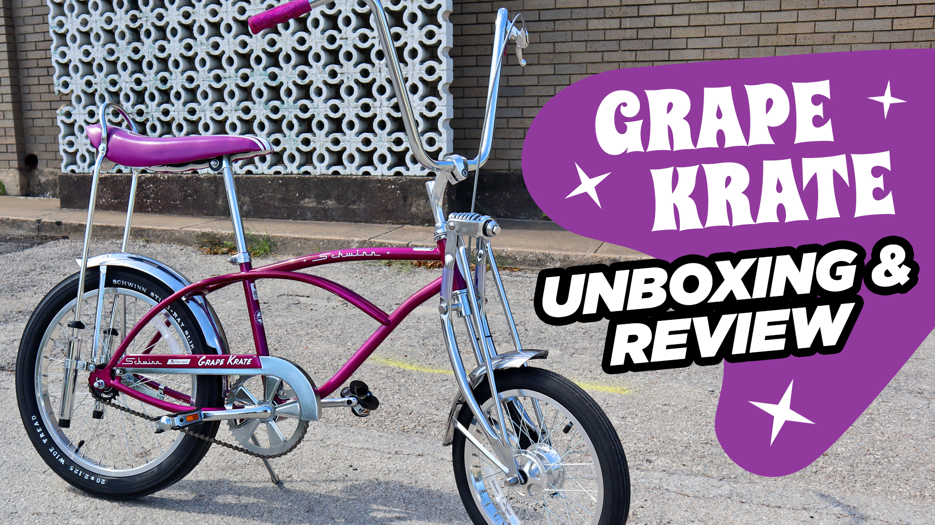 We Got Our Hands on a 2020 Schwinn Grape Krate! – Unboxing & Review